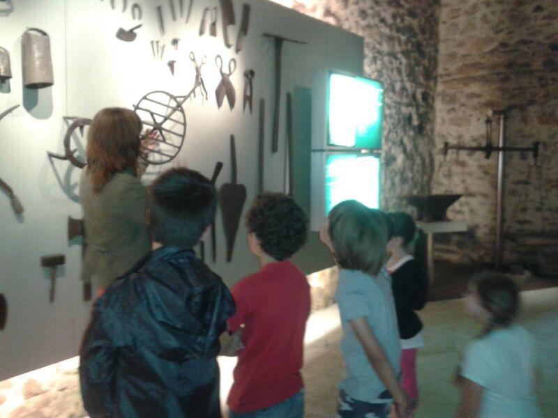 Salida al Museo de la Ferrería, Muskiz