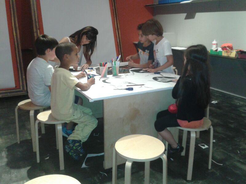 Gymkana y visita-taller en el Museo de Bellas Artes